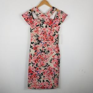 NWT Rachel Roy Floral Lace Overlay Shift Dress